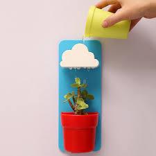 Plastic Clouds <b>Wall Hanging</b> Garden Pot <b>automatic</b> water Succulent ...