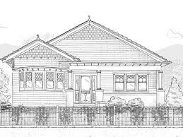 California Craftsman Bungalow House Plans Large California    Single Storey Bungalow House Plans California Bungalow House Plans