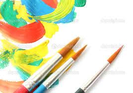 Resultado de imagem para tintas e pinceis