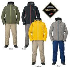 <b>DAIWA</b> Rain wear Gore-Tex <b>Winter</b> Suit DW-1907 YELLOW Fishing ...