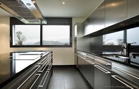 black and stainless kitchen black and stainless steel kitchen kitchen cabinets modern stainless steel  sx island