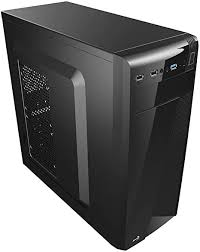 Aerocool <b>CS-1101</b> Mini Micro ATX Tower Computer Case - Black ...