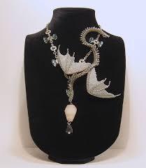 Купить Серо <b>серебристый</b> змей - серебряный, дракон, <b>колье</b> из ...