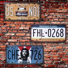 Online Shop Car Vintage Retro <b>Metal Tin</b> Sign Poster Plaque Bar ...