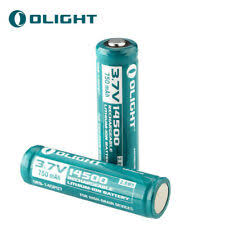 High Drain Devices Li-Ion Rechargeable Batteries 14500 Battery for ...