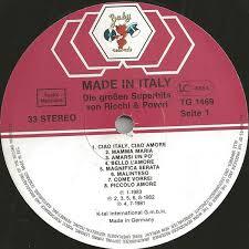 <b>Ricchi</b> E <b>Poveri</b> - <b>Made</b> In Italy - Die Großen Superhits Von <b>Ricchi</b> E ...