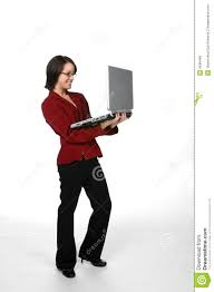 business casual teen laptop royalty stock image image business casual teen laptop