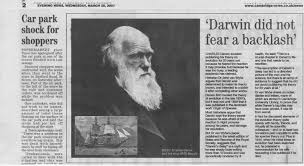 selected press media notices of darwin online cambridge evening news