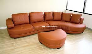 decoration in orange leather sofa set orange sectional leather sofa with chaise modern living room myfurnituredepo burnt orange furniture