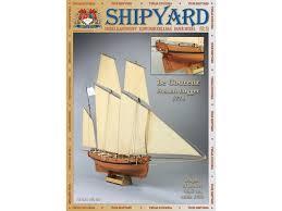 <b>Сборная картонная модель</b> Shipyard люгер Le Coureur (№51 ...