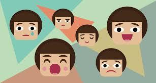 Resultado de imagen de emociones entre niños