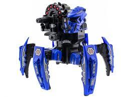 <b>Радиоуправляемый</b> боевой <b>робот</b>-паук Keye Toys Space Warrior ...