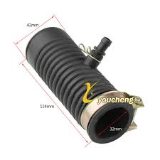 Long <b>Intake</b> Breather Tube <b>GY6 50cc</b> 80cc 100cc <b>Air Box</b> Repair ...