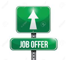 job references clipart clipartfest vector job offer road sign