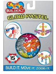 Buy ZOOB BuilderZ <b>15 Piece Glow</b> Pastel Online at Low Prices in ...