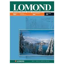 Lomond 180/A4/25л, <b>бумага матовая односторонняя</b>, 0102037 ...