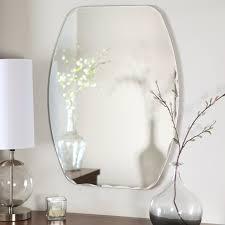 bathroom mirror modern mirrors allmoderno