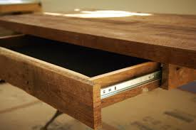 kitchen fabulous wooden desk which is completed with small drawer that designed using simple diy bathroomlikable diy home desk office