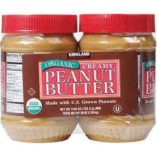 Kirkland Signature <b>Organic Peanut Butter</b>, 28 oz, 2-count