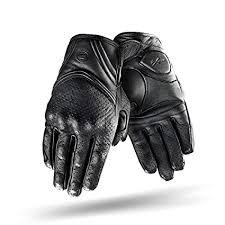 Size:L SHIMA Air Men S-4XL Black Vented <b>Summer</b> Leather <b>Classic</b> ...