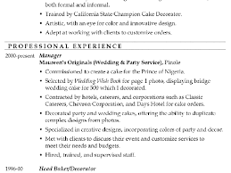 breakupus sweet images about carol sand job resume samples on breakupus fetching resume sample master cake decorator beauteous warehouse supervisor resume samples besides cv resume