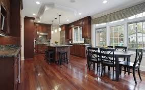 Wood Floor Kitchen Cherry Wood Floor Kitchen 4000 Laminate Wood Flooring
