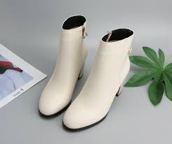 <b>Meotina</b> Natural Genuine Leather <b>Boots</b> Women <b>Winter</b> Block <b>Heel</b> ...