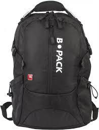 """<b>Рюкзак</b> BRAUBERG <b>B</b>-<b>PACK</b> """"<b>S</b>-<b>02</b>"""" (черный)"""