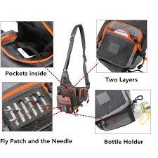 V Cross 23*21*8.5 cm <b>Fishing Bag Waterproof Multi Function</b> ...