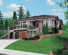 Plan MS  For An Uphill Skinny Lot   House plans  House and    Plan MS  For An Uphill Skinny Lot   House plans  House and      m    s Lot
