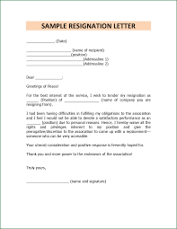 11 how to write a resignation letter for personal reasons resignation letter by francizpanganiban