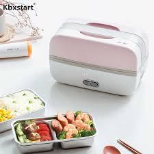 <b>Kbxstart 220V</b> Portable <b>Multifunction</b> Steam Rice Cooker Lunch Box ...