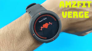Original <b>Amazfit Verge</b> Smartwatch : Unboxing Test & Review ...