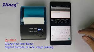 <b>ZJ</b>-5805 ZJiang <b>portable mini</b> bluetooth printer for android/ios ...