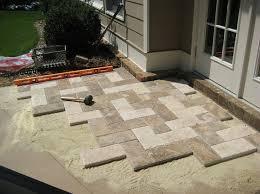 decoration pavers patio beauteous paver: natural stone paver patio makeover  natural stone paver patio makeover