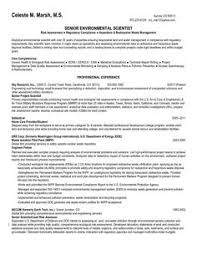 Environmental Science Resume Sample   http   www resumecareer info environmental