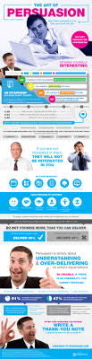 how to use basic persuasion to get you a job infographic persuasion