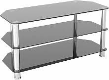 Black Glass <b>Tv Stand</b> - Shop online and save up to 43% | UK ...