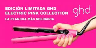 Resultado de imagen de planchas pink ghd cancer de mama