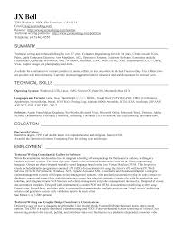 example of a good resume summary sample cv writing service example of a good resume summary sample resume gallery of technical writer resume summary creative