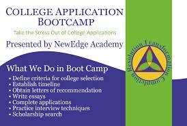 college application boot camp mar vista mom college application boot camp