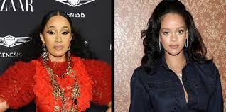 Rihanna Reportedly Uninvited Cardi B From Her Diamond Ball ...