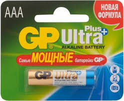 <b>Батарейка GP Ultra Plus</b> Alkaline AAA (LR03), 1 шт. (24AUP-2CR1 ...