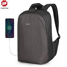 "Tigernu Anti theft 15.6"" Laptop Backpacks Large Capacity <b>USB</b> ..."