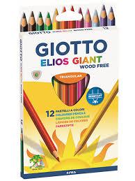 GIOTTO ELIOS GIANT <b>Утолщенные</b> полимерные <b>цветные</b> ...