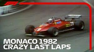 Crazy Final Three Laps in Monaco! | <b>1982</b> Monaco Grand Prix ...