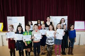 annual respect life events make faith a visible sign for others    winning smiles • the young winners of the respect life poster  essay and video contest proudly display their certificates at the annual st  anthony of