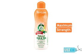 <b>TropiClean Maximum Strength</b> Natural Flea & Tick Dog Shampoo ...