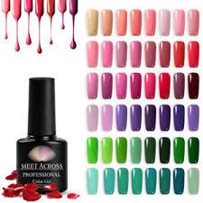 <b>MEET ACROSS</b> 148 Colors 7ml Nail Art Soak Off <b>Gel Polish</b> ...
