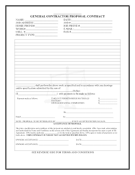 construction proposal template cyberuse of construction proposal form templates contractor bid proposal um7ymxtu